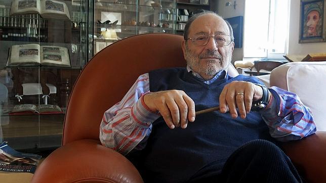 El escritor y filósofo italiano Umberto Eco