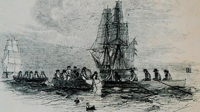 Los buques de la «Royal Navy» parten hacia el Ártico