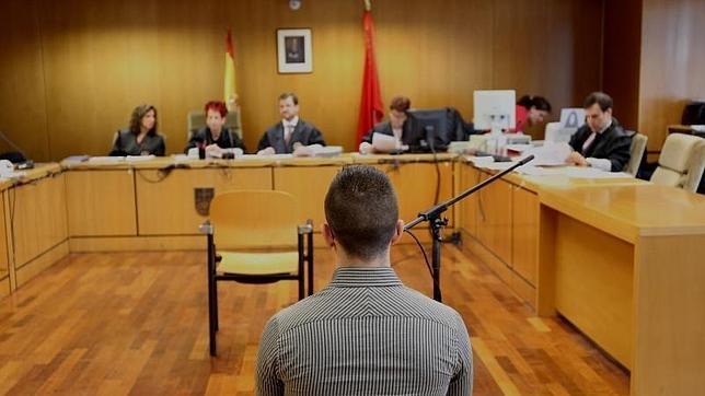 «Alfon», durante una de las sesiones del juicio ante la Audiencia Provincial
