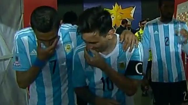 Messi y Di Maria no se reian del Tata Martino