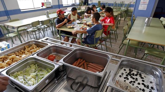 La promesa de abrir los comedores escolares se queda a - Comedores escolares alicante ...