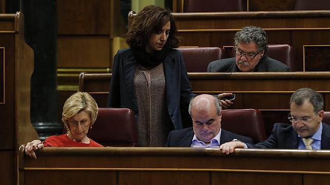 El grupo parlamentario de UPyD en el Congreso de los Diputados está dividido.
