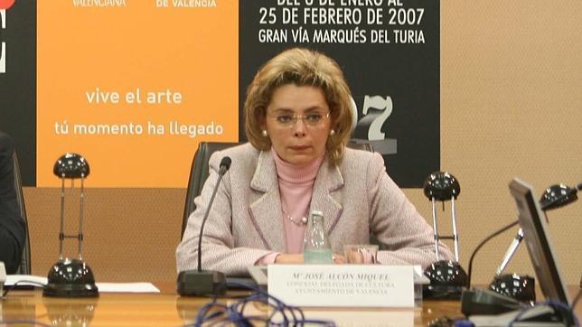 María José Alcón, en una imagen de archivo