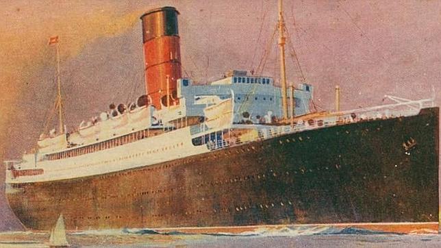 «HMT Lancastria», un buque de transporte de tropas hundido por los alemanes