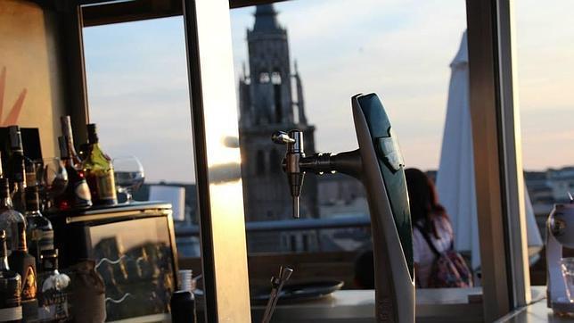 Vistas desde la terraza del hotel Carlos V