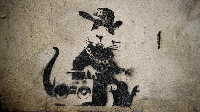 La huella de Banksy sale a la luz en La Habana