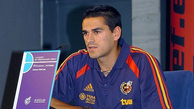 Juanito, en su etapa como jugador de la selección española
