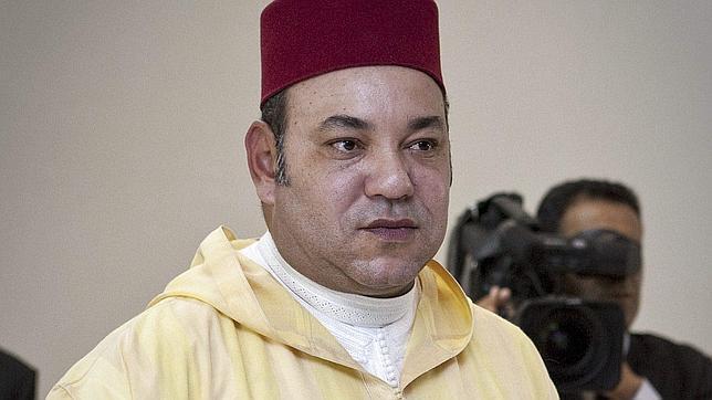 Imagen del rey Mohamed VI