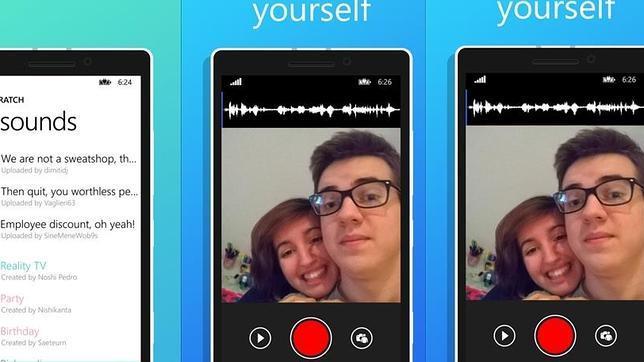 Aplicaciones para hacer vídeo-selfie playback
