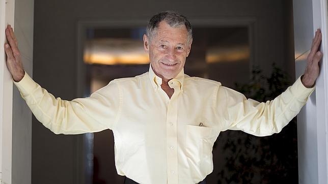 Leonard Kleinrock, uno de los «padres» de internet, durante la entrevista con ABC