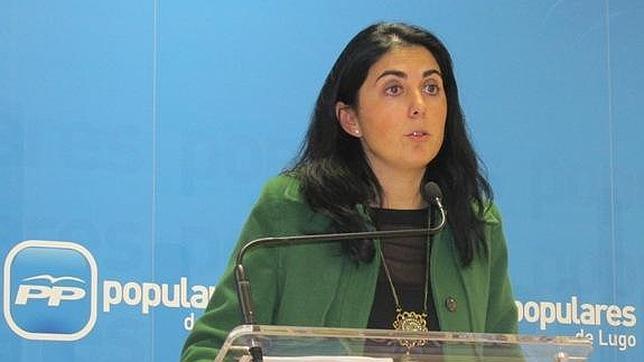 La presidenta de la Diputación de Lugo, Elena Candia