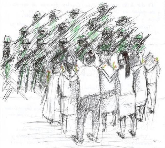 Homenaje a las Damas de Blanco, desde la prisión