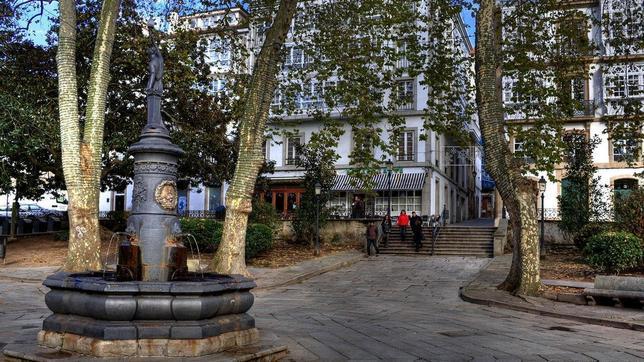 Plaza de Azcárraga, en la Ciudad Vieja