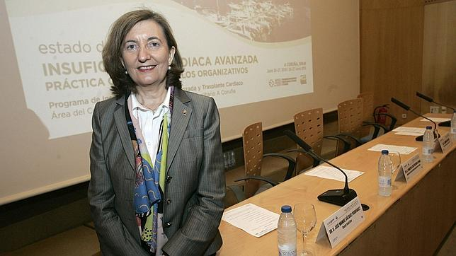 La doctora Marisa Crespo-Leiro, especialista en cardiología del CHUAC