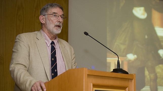 Geoffrey Parker, en la conferencia dada en la Universdad Pablo de Olavide