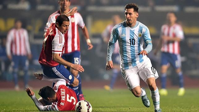 La orquesta argentina de Messi destroza a Paraguay y se mete en la final