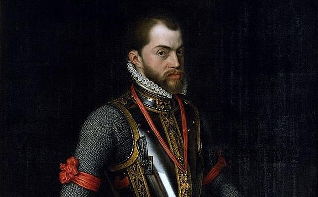 Retrato de Felipe II por Alonso Sánchez Coello