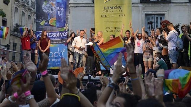 Fiesta de la meada gay de Amsterdam