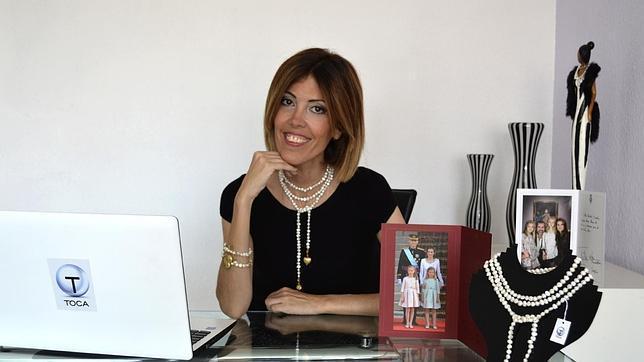 La diseñador Carola Toca en su despacho