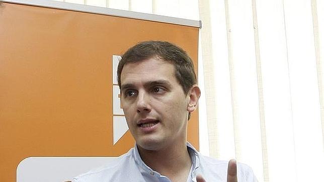 Albert Rivera, tras su intervención en el consejo general de Ciudadanos