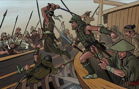 Samuráis vs. conquistadores: el cómic que te permite morir en batalla por España