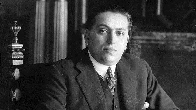Calvo Sotelo en su despacho, en una imagen de 1930
