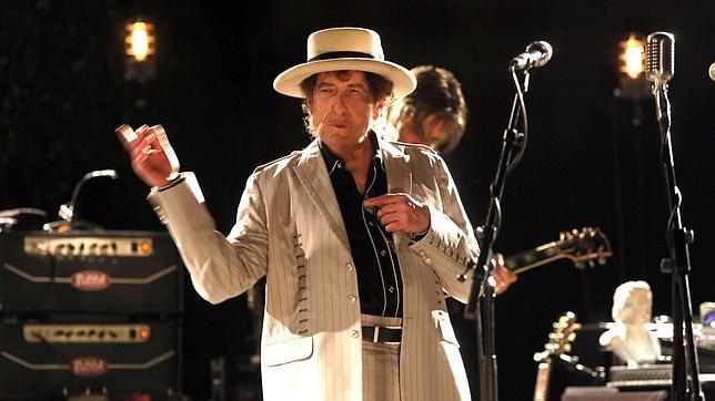Bob Dylan, el pasado sábado, en el concierto que ofreció en Barcelona; ayer no permitió la presencia de fotógrafos