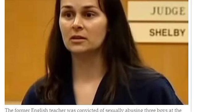 La profesora de inglés ha sido condenada a 22 años de prisión por abusar sexualmente de tres de sus alumnos