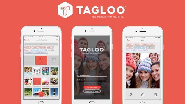 Así organiza Tagloo tu álbum de fotos