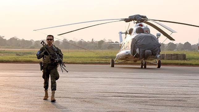 «La guerra se gana en África»