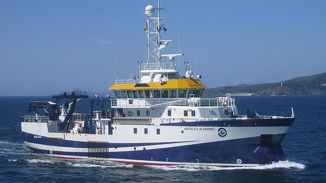 El Ángeles Alvariño, buque oceanográfico con la más alta tecnología