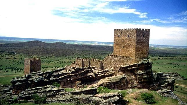 El Castillo de Zafra, en el término municipal de Campillo de Dueñas
