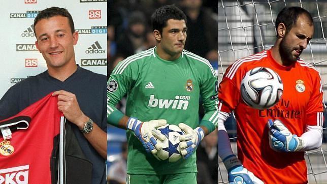 César Sánchez, Antonio Adán y Diego López compartieron vestuario con Casillas