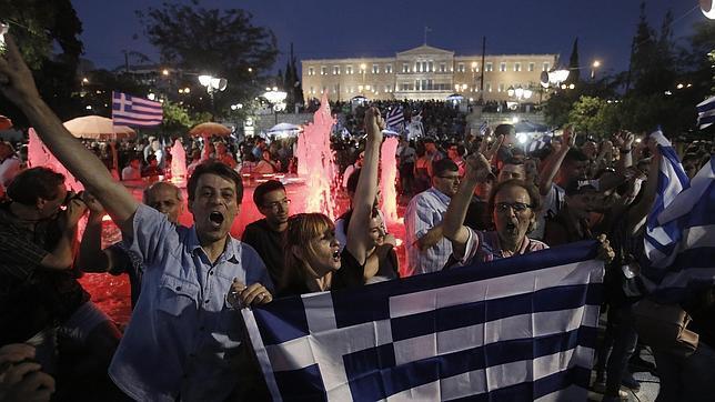 Grecia dice «no» a la Troika en el referéndum