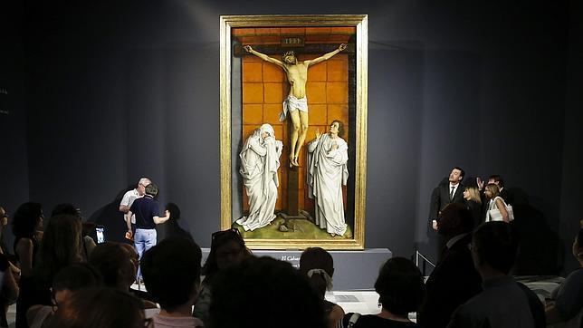 El cuadro, pintado entre 1457 y 1464, ya restaurado y expuesto en El Escorial