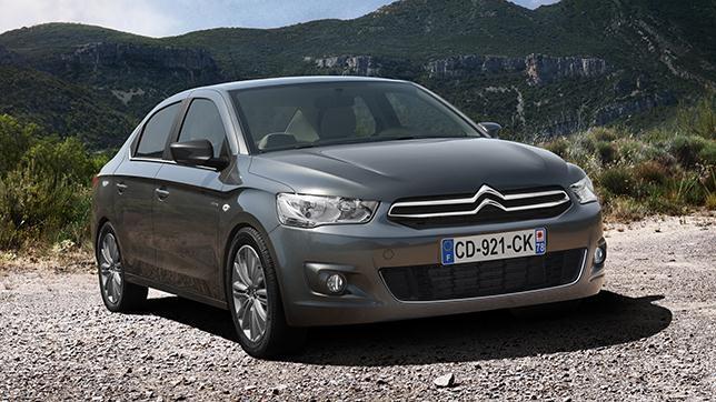 La berlina gallega de Citroën, el C-Elysée