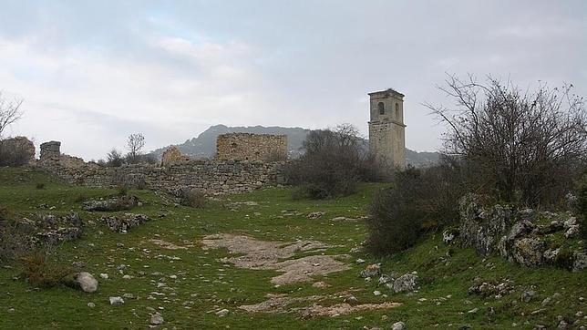 Las ruinas de Ochate