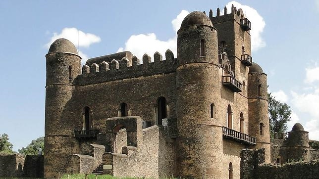 Palacio Fasilidas, en Gondar, Etiopía