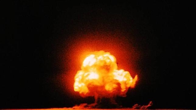 La única foto de la explosión, tomada por un civil