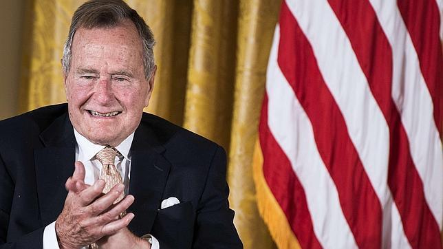 «Bush padre» en 2013, durante un acto celebrado en la Casa Blanca