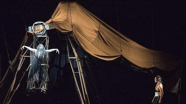 El montaje de la Fura desembarca esta noche en Peralada