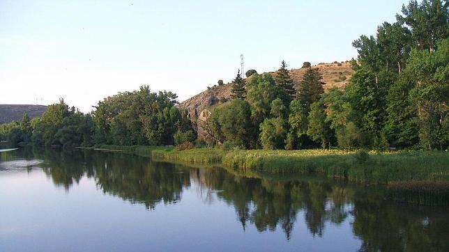 Río Duero a su paso por la provincia de Soria