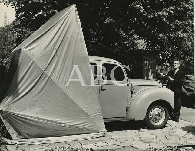 Fotograf as antiguas de abc el garaje port til for Garaje portatil