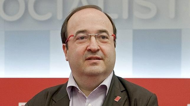 El viceprimer secretario del PSC y portavoz de este partido, Miquel Iceta