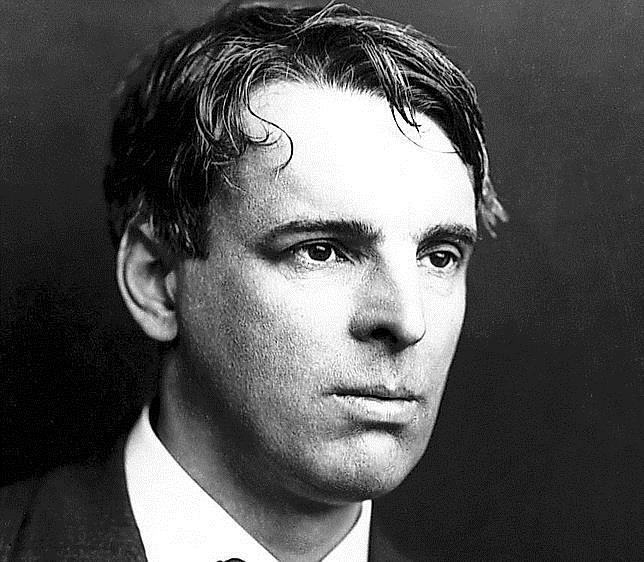 El poeta William Butler Yeats, en una imagen de finales del siglo XIX