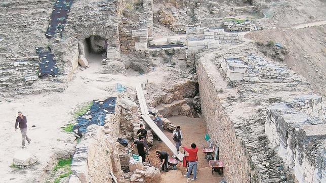 Imagen de archivo de excavaciones en el yacimiento de Bílbilis