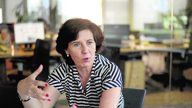 Helena Herrero, presidenta de HP