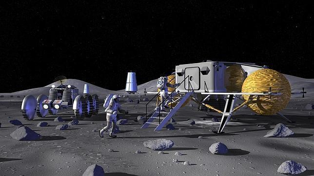 La NASA podría tener una base permanente en la Luna en 20 años