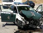 Embiste con un coche robado a una patrulla de la Guardia Civil y se da a la fuga
