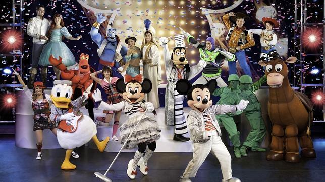 Imagen del espectáculo de Disney